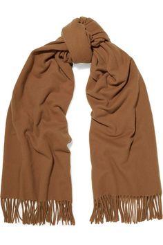ACNE STUDIOS Canada fringed wool scarf.  acnestudios  scarves Wool Scarf, Acne  Studios 933ddb06ffc