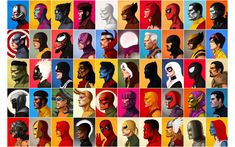 Marvel Profiles Wallpaper