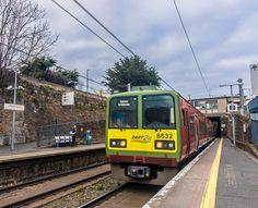 The Train That I Am Waiting For -Sandycove & Glasthule Railway Station Mode Of Transport, Dublin, Planes, Trains, Fun Stuff, Scotland, Transportation, Ireland, Irish