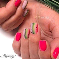 Colored Acrylic Nails, Summer Acrylic Nails, Spring Nail Art, Acrylic Nail Art, Spring Nails, Almond Nails Designs, Gel Nail Art Designs, Classy Nails, Stylish Nails