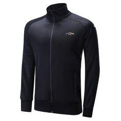 Irregular Grid Print Zip Up Raglan Sleeve Jacket