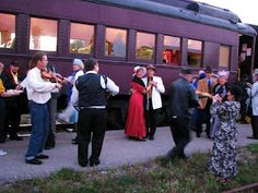 Murder Mystery Train Ride...tell me that doesn't sound like fun!! I'd settle for a Murder Mystery anything lol