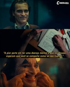 Coringa This film is an excellent representation of the type of context and social circumstances tha Film Quotes, Funny Quotes, Movie Color Palette, Dark Thoughts, Work Motivation, Low Self Esteem, Cartoon Tv, Life Lessons, Dc Comics