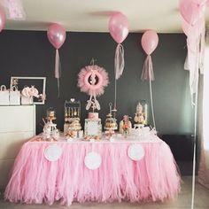 Un anniversaire sur le thème Danse et Ballerine