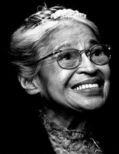 Rosa Parks, 1913-2005 Rosa Parks, Civil Rights Activists, Civil Rights Leaders, Iconic Women, Famous Women, Great Women, Amazing Women, Black History Month, Feminist Icons