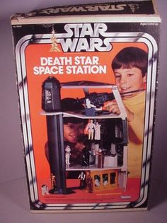 Death Star Space Station playset by Kenner