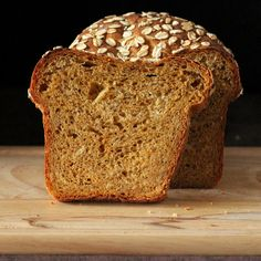 Pumpkin Wheat Bread Loaf. Vegan Recipe | Vegan Richa