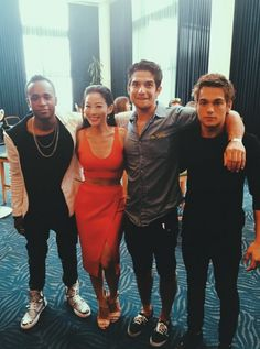 Teen Wolf cast - MTV Movie Awards 2015