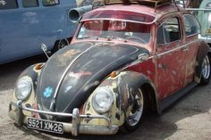 Ratrod Beetle with great patina!