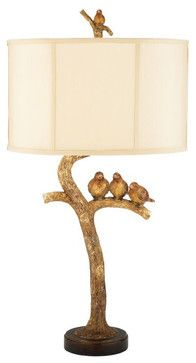 Portable Fixture: This table lamp is a task light. You can pick it up and take it with you. It also sits on a table.