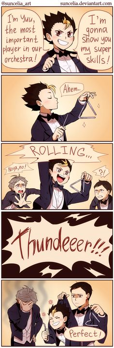 Haikyuu!! Orchestra AU: The Most Important Player by Suncelia on DeviantArt