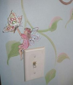 Estimate for Tree Mural Nursery Art Hand Painted Custom Murals Pittsburgh muralist art for nursery - Hattie Baby Name - Ideas of Hattie Baby Name - Another close up of a fairy from the same mural. Girls Fairy Bedroom, Fairy Room, Kids Bedroom, Kids Rooms, Bedroom Ideas, Baby Rooms, Bedroom Decor, Nursery Art, Girl Nursery