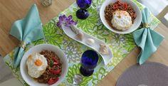 テーブルコーディネート/おすすめコーディネート/シーズンコレクション/アジアンフードのテーブル | テーブルクロスの専門店 レシピ