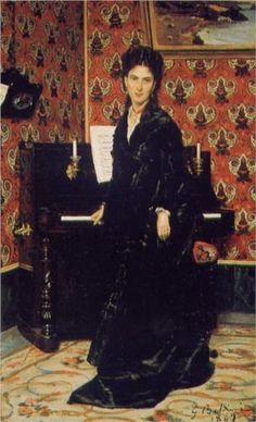 Portrait of Mary Donegan - Giovanni Boldini