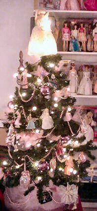 Barbie Hallmark Christmas Tree Ornaments ~ via Suzanne @ Fashion Doll Guide.