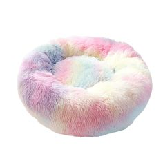Calming Bed For Cats | Fluffy, Calming & Anti Anxiety | Cat or Cat Grey And White Bedding, Green Bedding, Pink Bedding, Brown Cat, Red Cat, Pink Cat, Calming Cat, Anxiety Cat, Bed Lights
