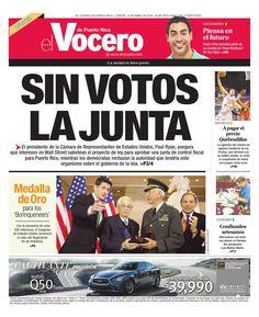 Edición 14 de Abril 2016  El Vocero de Puerto Rico
