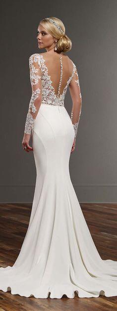 Martina Liana Spring 2016 Wedding Dress #weddingdress