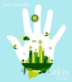 Go green city hand concept. People hand and green city town on blue sky backgrou , What Is Green, Go Green, First Earth Day, Tree Clipart, Energy Projects, Medical Illustration, Greenhouse Gases, Environmental Issues, Carbon Footprint