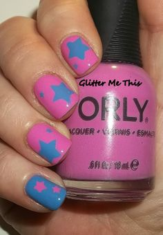 ✝☮✿★ NAILS ✝☯★☮ Star Nails, Colourful Hair, Rainbow Hair, Hair Makeup, Hair Color, Nail Polish, Make Up, Beauty, Enamels