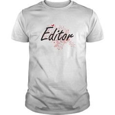 Editor Artistic Job Design with Butterflies T-Shirts, Hoodies. Get It Now ==> https://www.sunfrog.com/Jobs/Editor-Artistic-Job-Design-with-Butterflies-White-Guys.html?id=41382