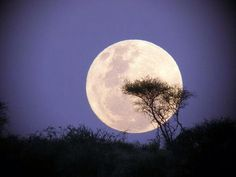 Mega-maan boven Afrika
