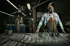 Factory Worker by Chris Crisman