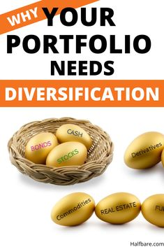 Investing experts and analysts scream diversify, diversify, diversify - but what is diversification? It's not placing all your eggs in one basket. Passive Income Opportunities, Passive Income Streams, Individual Retirement Account, Retirement Accounts, Investing Money, Saving Money, Saving For Retirement, Retirement Savings, Stock Market