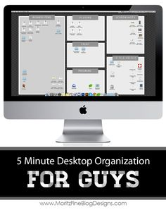 Technology Desktop Organization for Men | 5 minutes to an organized computer life