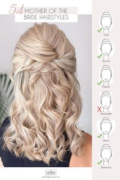 Mother Of The Groom Hairstyles, Mother Of The Bride Hairdos, Prom Hairstyles For Long Hair, Mom Hairstyles, Short Hairstyles For Wedding Bridesmaid, Up Hairstyles For Wedding, Medium Length Wedding Hairstyles, Mother Of The Bride Hair Short, Dinner Hairstyles