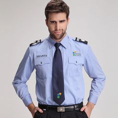 Manufacturer & Exporters of Security Guard Uniform in Noida India. Source India Shoes offering fine quality Security Guard Uniform at Affordable Price. Security Companies, Security Service, Security Guard, Hotel Uniform, Men In Uniform, Security Uniforms, Uniform Design, Military Fashion, Jacket Style