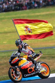 Marc Márquez Campeón del Mundo de Moto2
