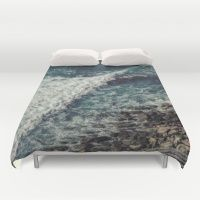 Blue ocean I Duvet Cover