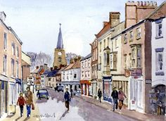 David Work's paintings of Malton, North Yorkshire | This is Hull and East Riding