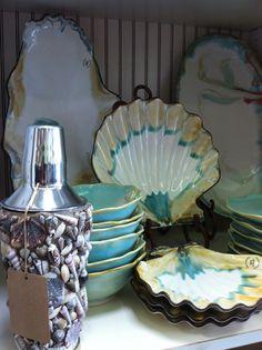 She Sells Sea Shells | coastal pottery & be-shelled shaker