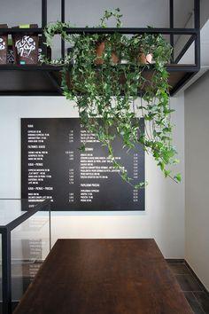 Coffee Date: Kavalierius Café in Lithuania by Ramūnas Manikas Coffee Shop Interior Design, Cafe Design, House Design, Industrial Home Design, Industrial House, Coffee Date, Lithuania, Restaurant Design, Interior Architecture
