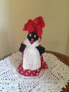 Hand crafted Aunt Jemima Black Americana Dinner by JoAnntiques