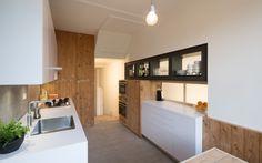 herenhuis Heemraadssingel // nieuwe keuken // townhouse Rotterdam // new kitchen in reclaimed wood