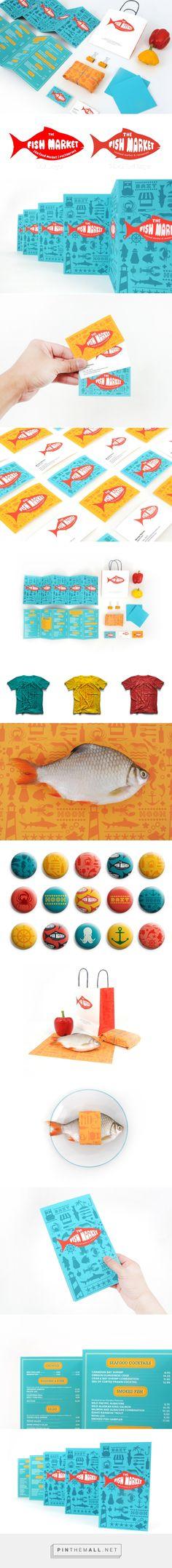 THE FISH MARKET Branding on Behance | Fivestar Branding – Design and Branding Agency & Inspiration Gallery