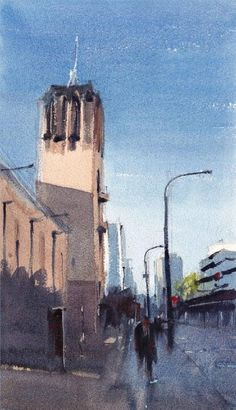 Watercolour New Zealand is this country's only society dedicated to the appreciation and promotion of watercolour painting. Watercolour Paintings, Watercolor Landscape, Watercolours, Michael Bennett, New Zealand, Appreciation, Promotion, Artsy, Gallery