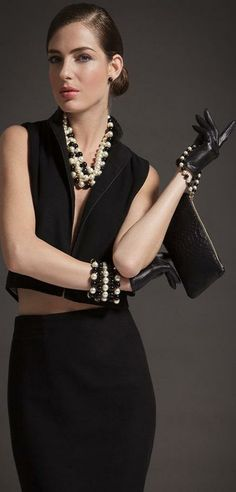 Set of pearls    LBV ♥✤   KeepSmiling   BeStayElegant