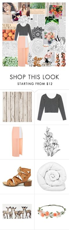 """spring style ♡"" by embrxce ❤ liked on Polyvore featuring PLANT, Topshop, City Classified, Brinkhaus, WALL, Nails Inc. and wardrobebattles"