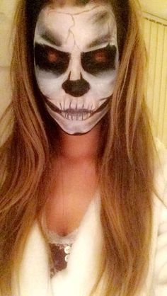 Skeleton Facepaint