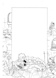 labyrinth colouring pages i drew for a swap 9 of 16 here they are