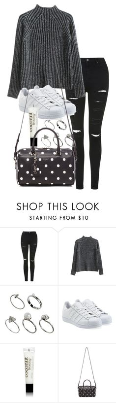 """Unbenannt #1300"" by tyra482 ❤ liked on Polyvore featuring Topshop, ASOS, adidas Originals, philosophy and Yves Saint Laurent"