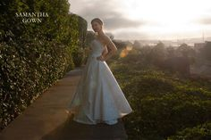 Haute Couture bridal and evening gowns designed by Suzanne Hanley. Made in San Francisco. - Atelier Des Modistes