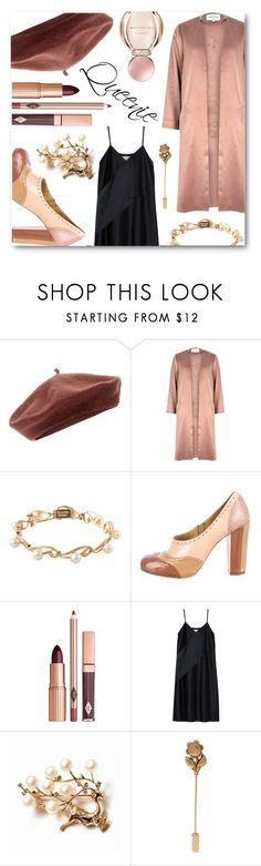 """'Queenie Goldstein'"" by curioser-and-curioser ❤ liked on Polyvore featuring Accessorize, River Island, Mikimoto, Miu Miu, 3.1 Phillip Lim, Gucci and Bulgari"