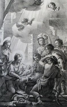 Luke in the Phillip Medhurst Collection 119 The adoration of the shepherds Luke 2:16 after Maratte on Flickr. A print from the Phillip Medhurst Collection published by Revd. Philip De Vere at St. George's Court, Kidderminster.
