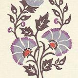 Persian Garden in Raisin from Galbraith & Paul #fabric #linen #purple