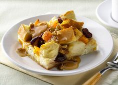 AllWhites and Better'n Eggs: Bread Pudding with Warm Caramel Pecan Sauce Recipe Egg White Recipes, Caramel Pecan, What's For Breakfast, Egg Whites, Healthy Desserts, Sauce Recipes, Breads, Sweet Tooth, French Toast